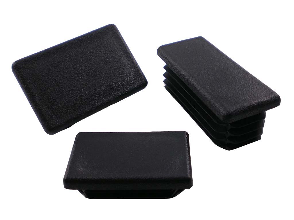 Záslepka, krytka, zátka 40x20 1,0-3,0mm Obdélníková plastová záslepka