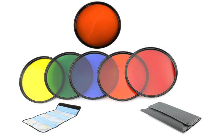 Elementrix sada 6 plných filtrů 55mm