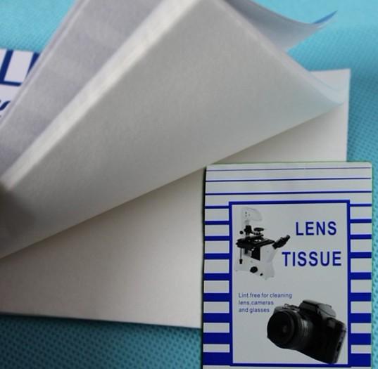 Čistící papírky na optiku 50 kusů 10x15cm