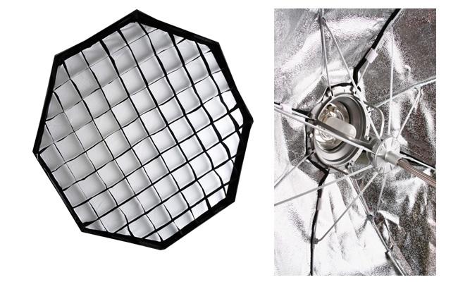 Softbox oktagon s voštinou, 120cm Bowens rychloskládací (OCT120RRR)