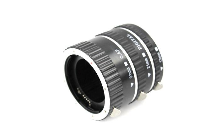 Makro mezikroužky pro Canon s přenosem clony AL