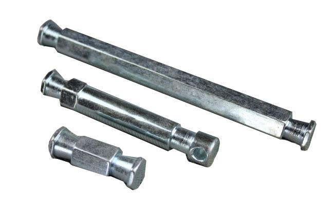 Super clamp spigot,  set 3 kusy