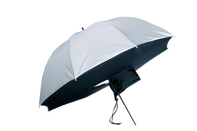 Softbox, fotografický deštníkový softbox, deštník 83cm bílý