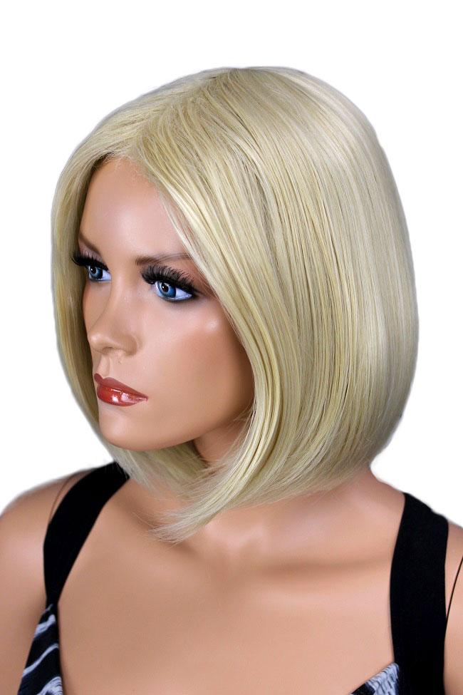 Dámská paruka krátká blond 119a