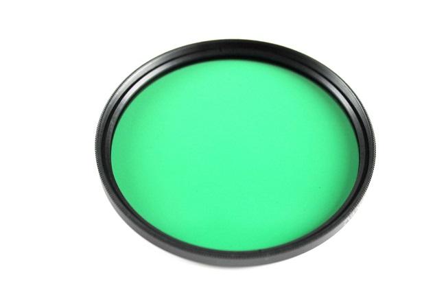Plný filtr zelený 55mm