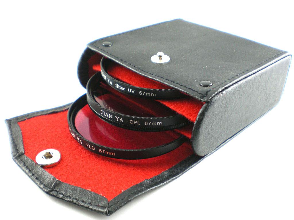 Sada Filtrů CPL+FLD+UV + pouzdro 52mm (Filset52)