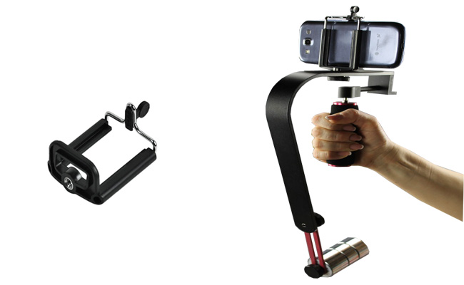 GoPro stabilizátor kamery steadicam W02 s držákem mobilu