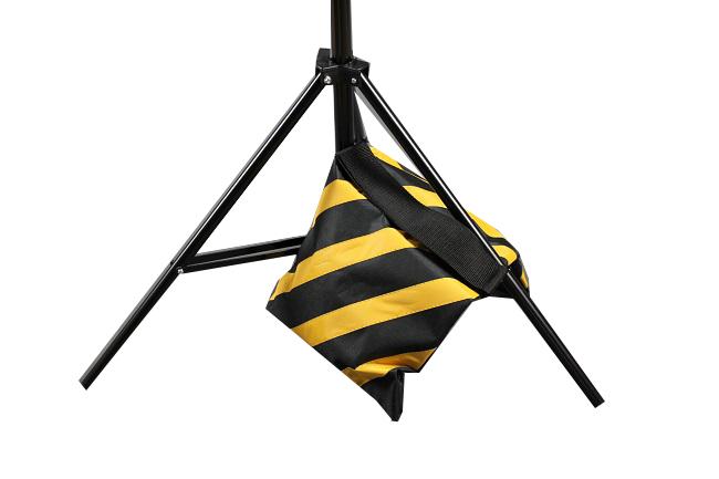 Závěsná taška pro jeřábový stativ, žlutá