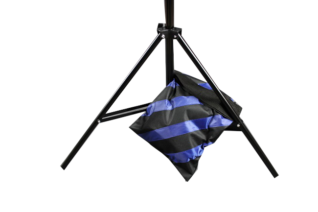 Závěsná taška pro jeřábový stativ, modrá