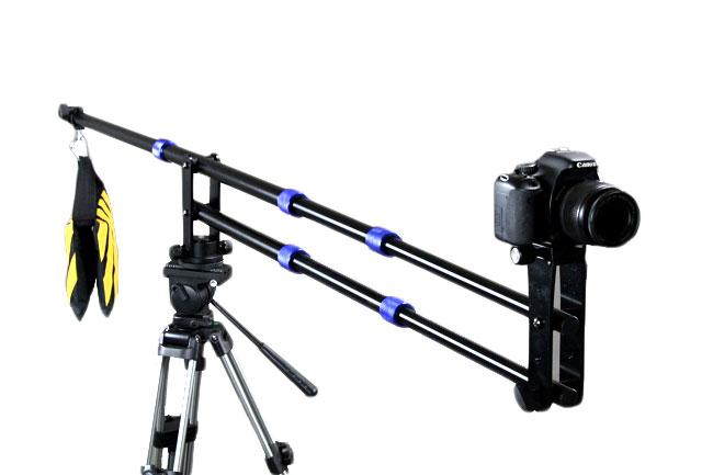 Kamerový jeřáb, JIB, filmový jeřáb, karbonový