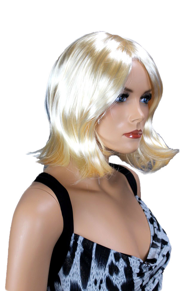 Dámská paruka blond, krátká LPR-111-88