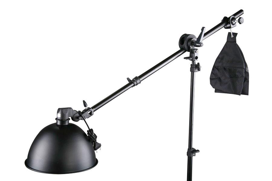 Boom St., stativ W-803 + lampa
