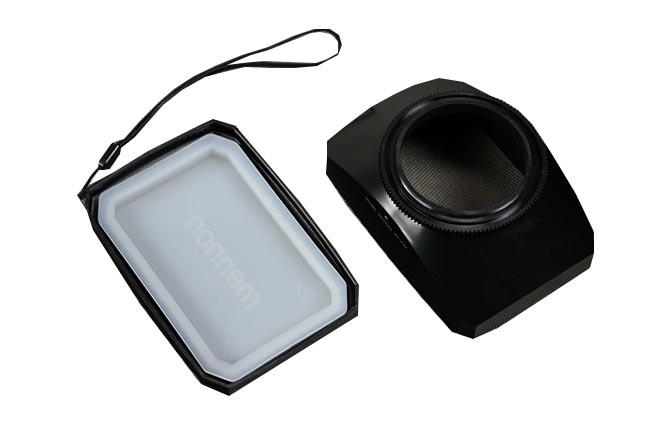 Sluneční clona 16:9 pro kameru + krytka 46mm s vyvážením bílé (DVSW46)