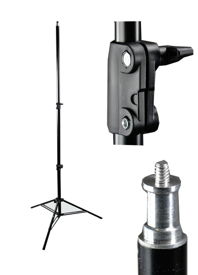 Stativ W-803, pro studiové světlo-blesk 242cm 25-22-19mm (W-803)