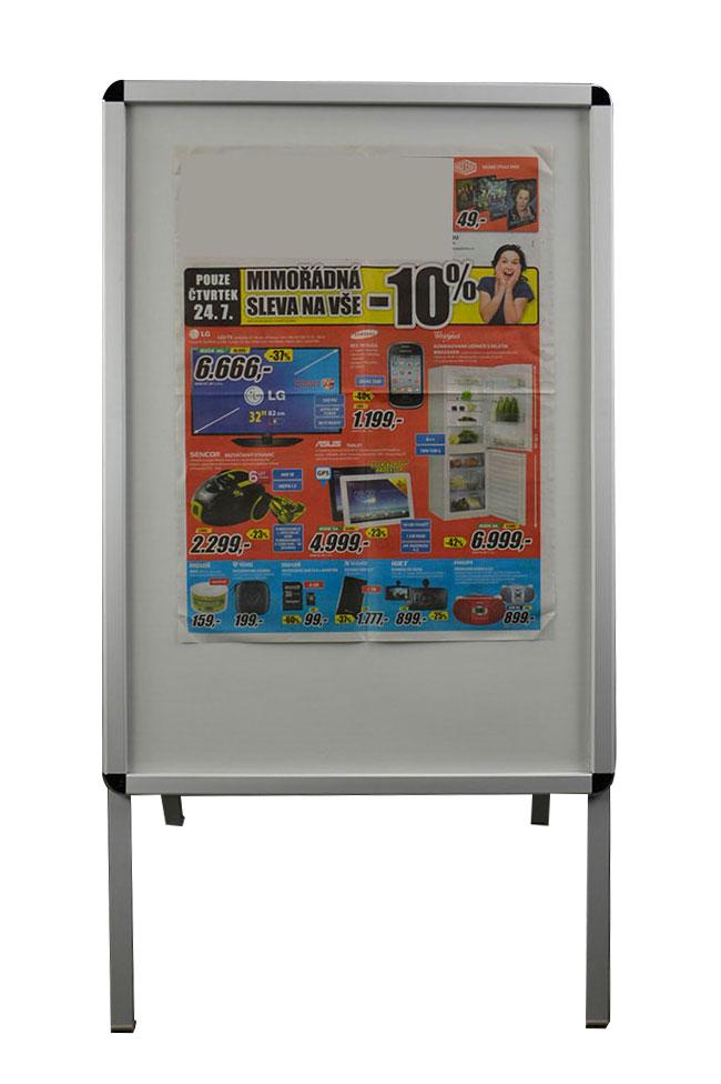 Reklamní tabule áčko A1 KT reklamní poutač jednostranná