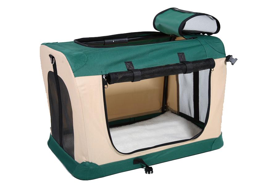 Klec pro psa, přepravní klec, látková přepravka, vel. XL