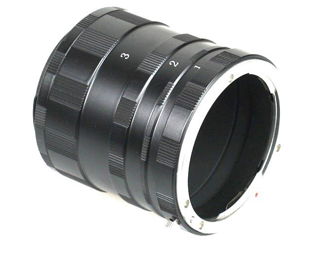 Canon EOS makro Mezikroužky