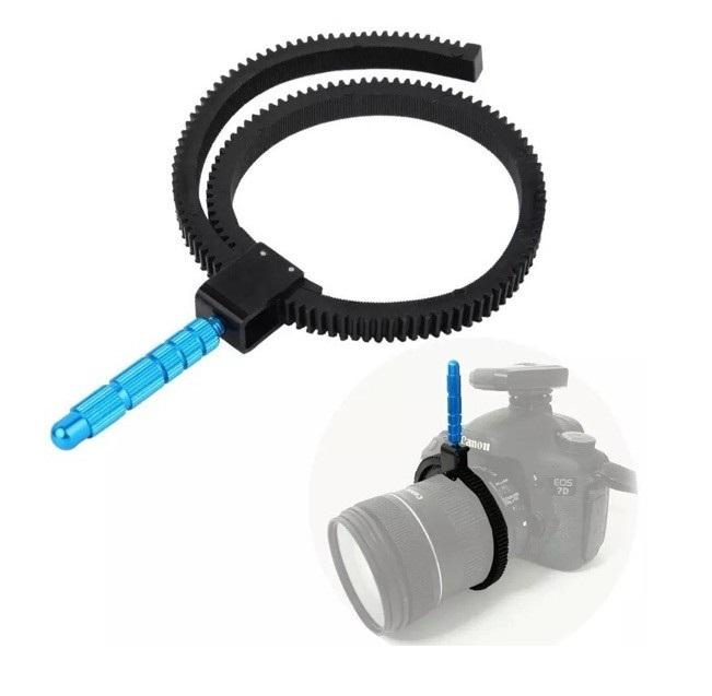 Gear Ring Follow Focus 52-86mm s čepem