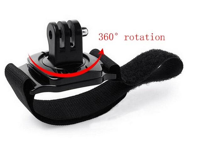 360° otočný držák s páskem Wrist strap GoPro Hero (GP75)