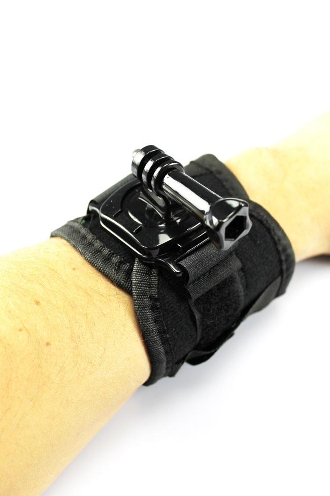 360° otočný držák s páskem na ruku GoPro (GP131)