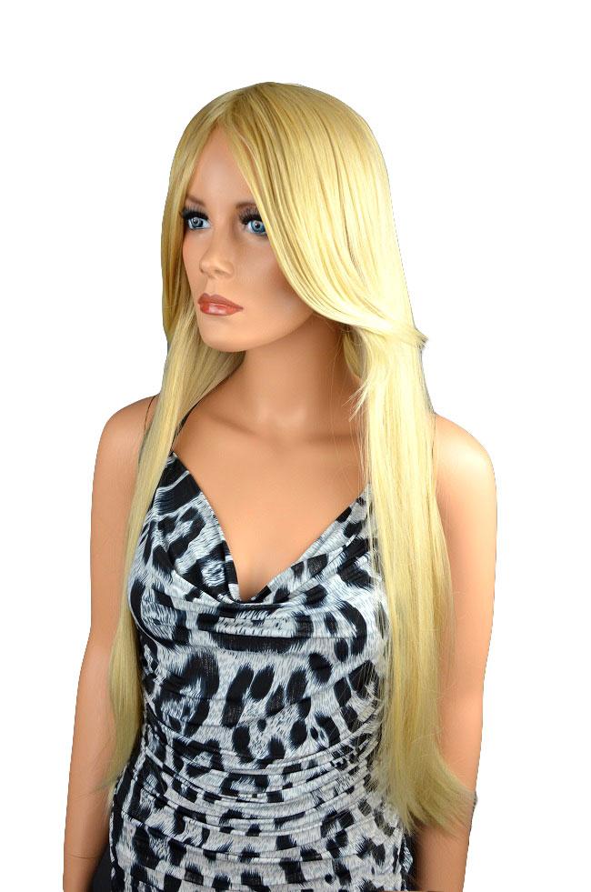 Dámská paruka dlouhá blond 16 27T613