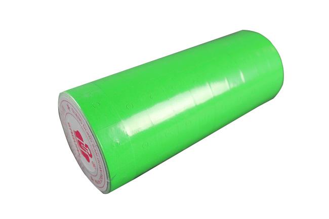 Etikety pro etiketovací kleště jednořádkové zelené