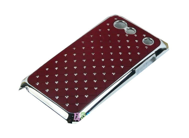 Samsung Galaxy S Advance i9070 ochranný zadní kryt červený