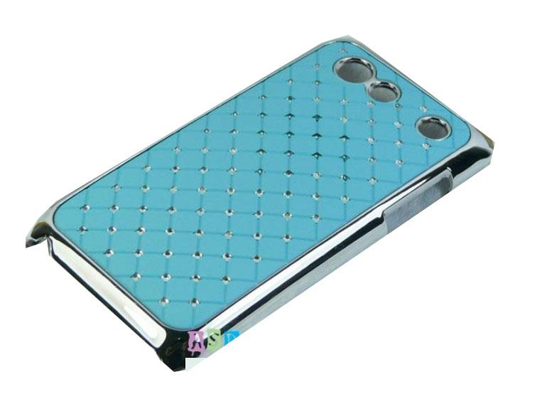 Samsung Galaxy S Advance i9070 ochranný zadní kryt světle modrý