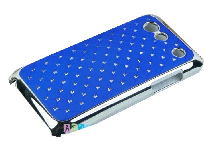 Samsung Galaxy S Advance i9070 ochranný zadní kryt tmavě modrý