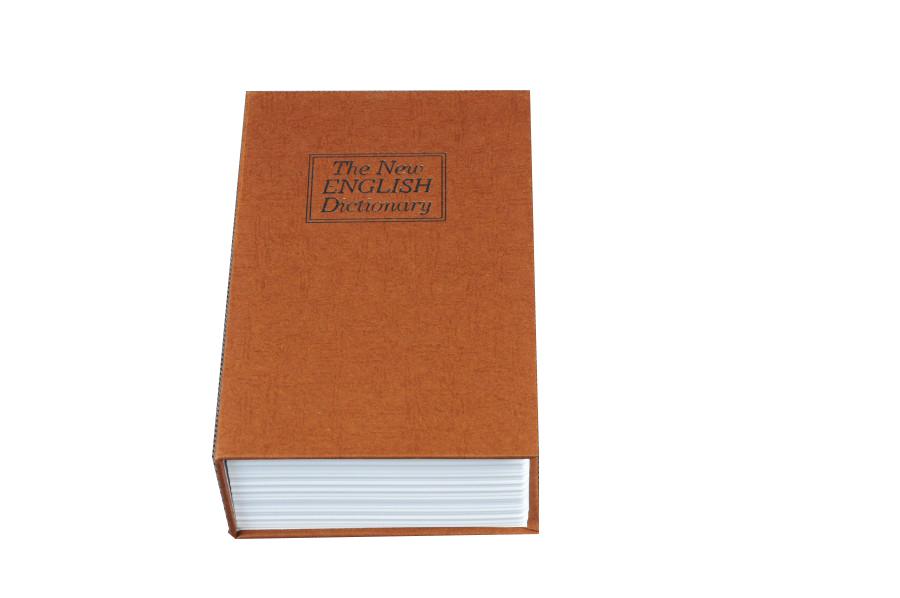 Trezor, pokladnička, kniha slovník 180x120x60mm zlatý