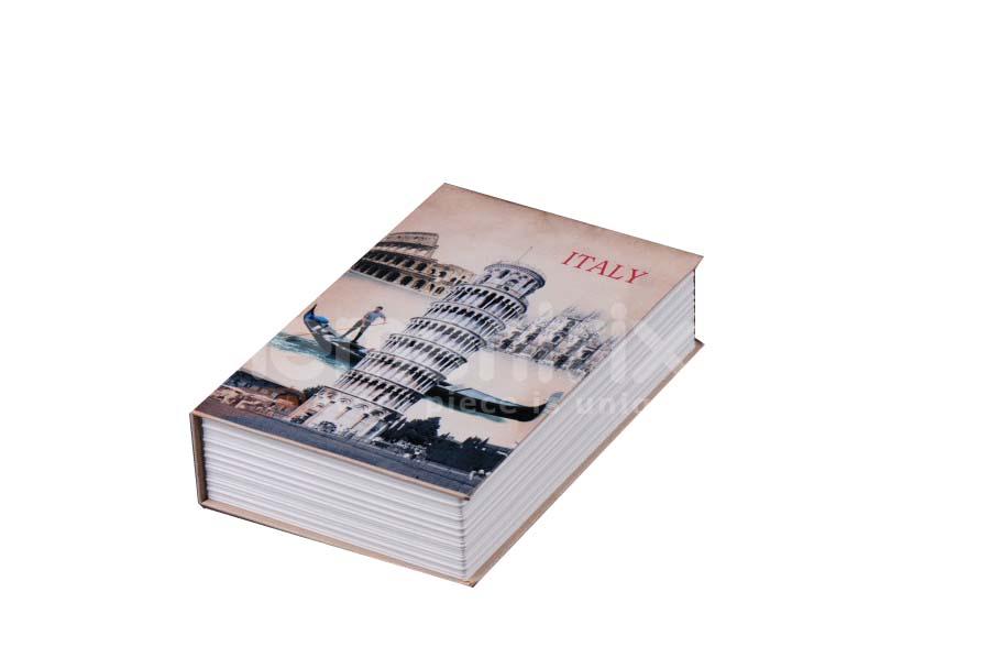Trezor, pokladnička, kniha Italy 180x120x60mm