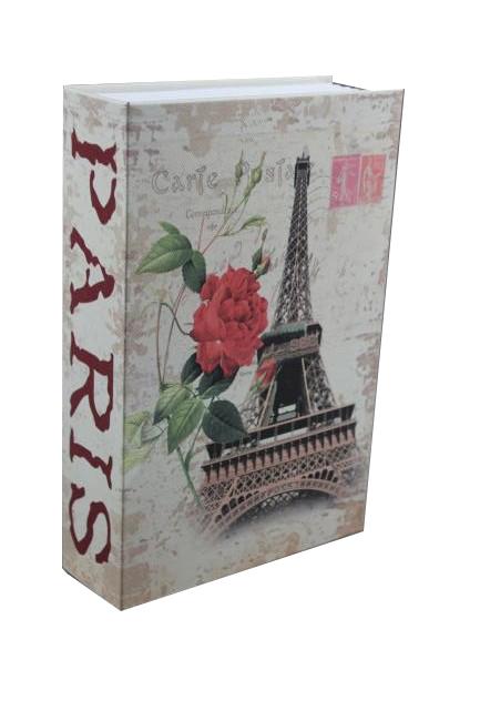 Trezor, pokladnička, kniha Paříž 240x160x60mm