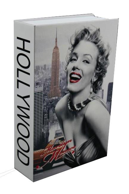Trezor, pokladnička, kniha Merilyn 240x160x60mm