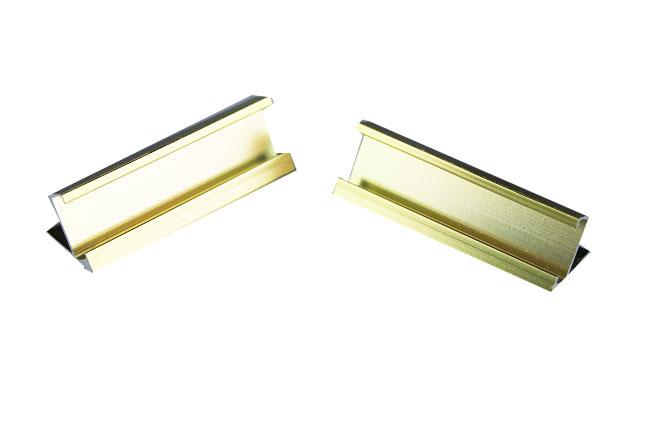 Cenovky 12x8, náhradní stojánek zlatý