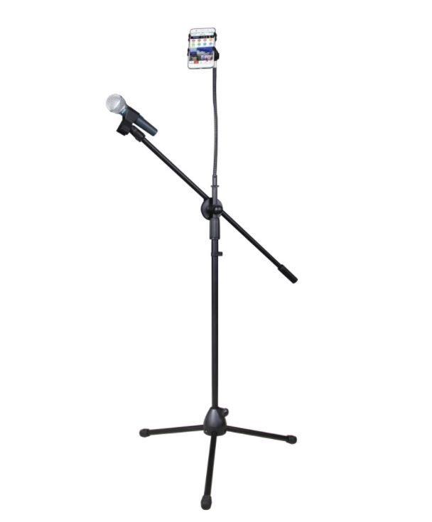 Elementrix stojan na mikrofon, držák mobilu
