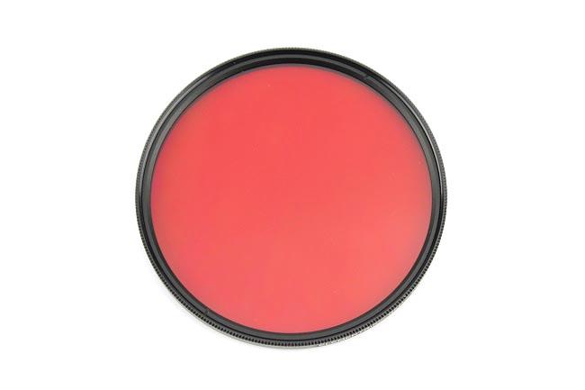 Elementrix plný filtr červený 77mm