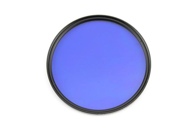 Elementrix plný filtr modrý 77mm