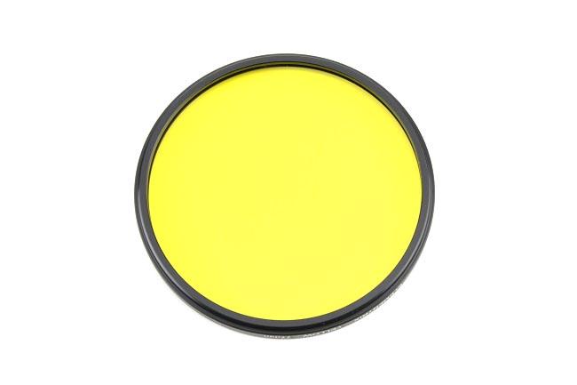 Elementrix plný filtr žlutý 77mm