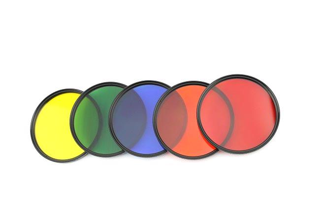 Elementrix sada 5 plných filtrů 77mm