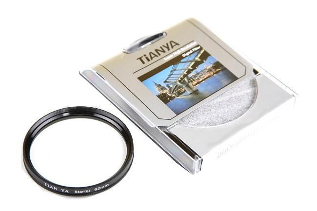 Efektový hvězdičkový filtr  STAR x6 62mm