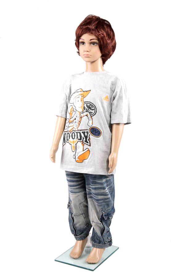 Dětská figurína, manekýna v tělové barvě kluk