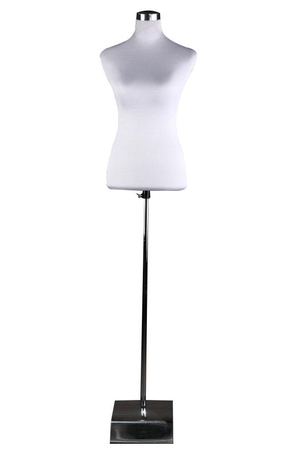 Krejčovská dámská figurína bílá