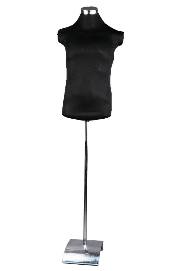 Krejčovská PÁNSKÁ figurína černá
