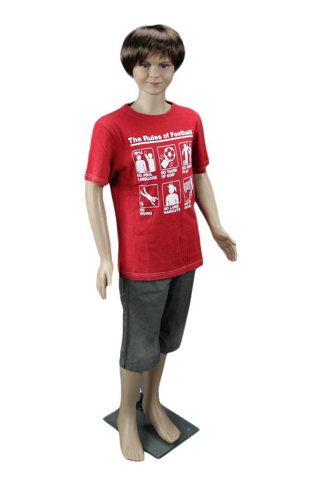 Dětská figurína, manekýna v tělové barvě kluk 140cm