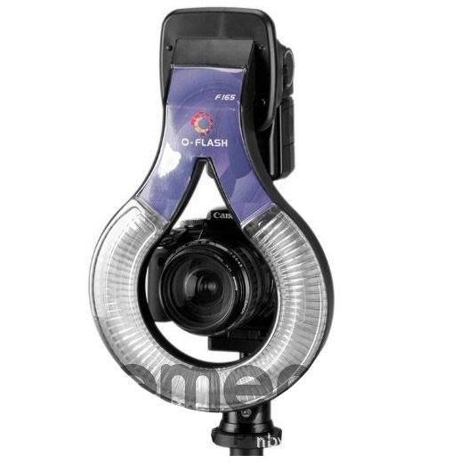 O-flash ring adaptér pro Nikon SB 900, Canon 550EX, F175