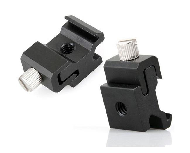 Kovový mini držák (sáňky) pro blesk (BL1)