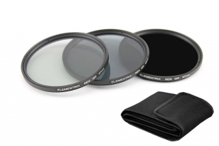 Elementrix ND8, ND4, ND2 set filtrů 62mm